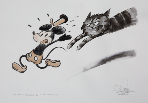 Gatto Killer vs topolino