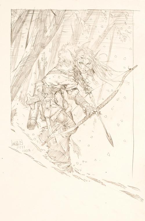La cacciatrice