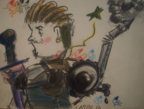 Cavaliere steampunk