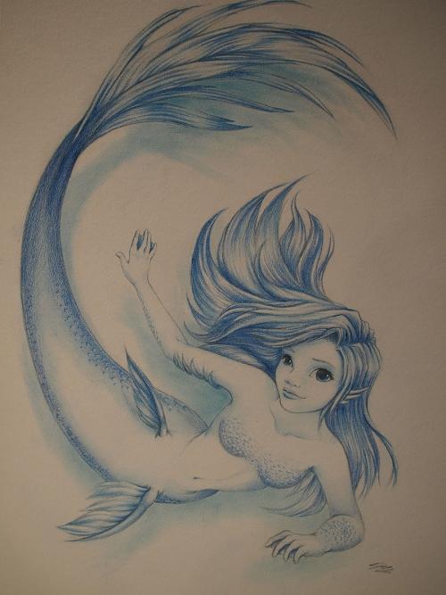 Sirenetta blu