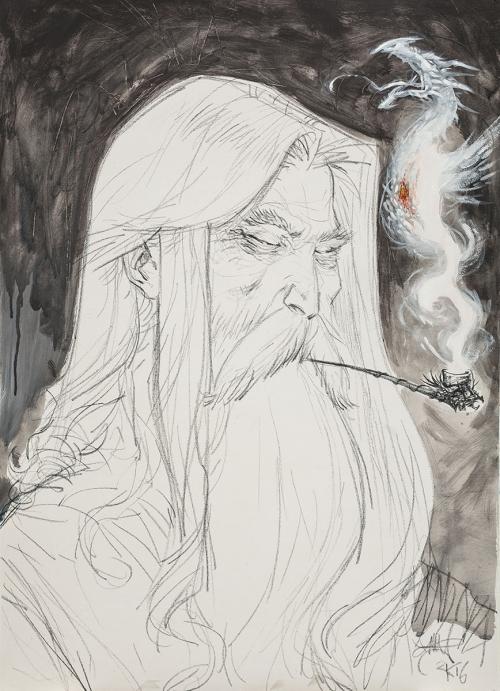 ll pensiero di Gandalf