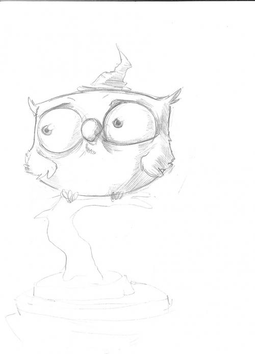 Shabby Owl