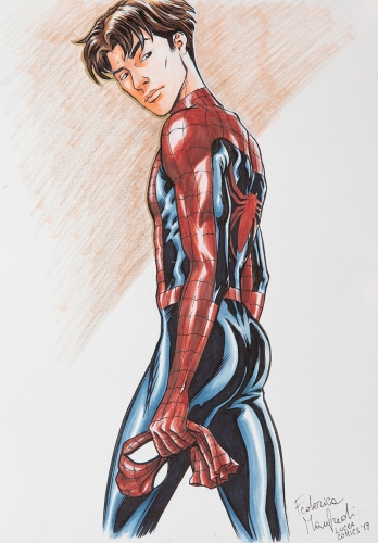 Disappointed Spiderman
