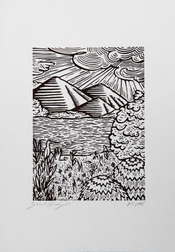 Aironi al mare